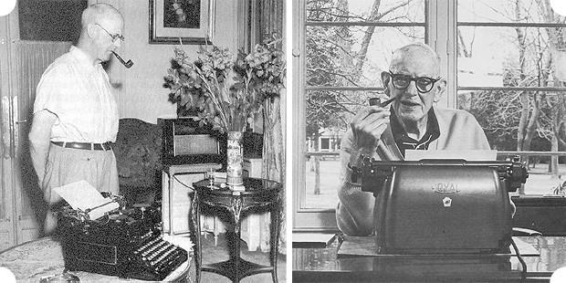Автор серии историй про Дживса и Вустера предпочитал печатную машинку «Royal Desktop». Изображение № 13.