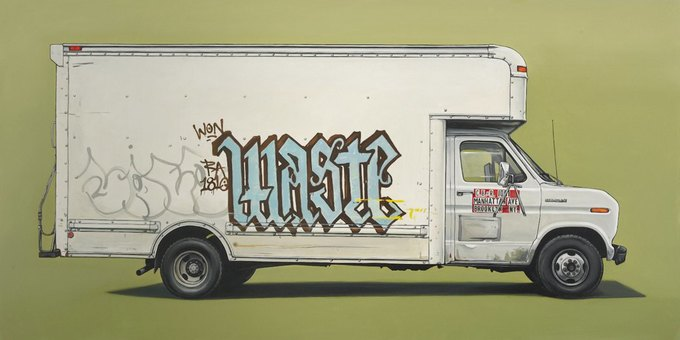 Кевин Сир: Граффити на фургонах как символ города. Изображение № 17.