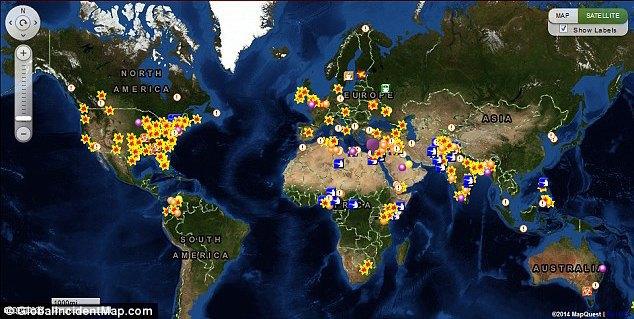 Создана интерактивная карта эпидемий. Изображение № 2.
