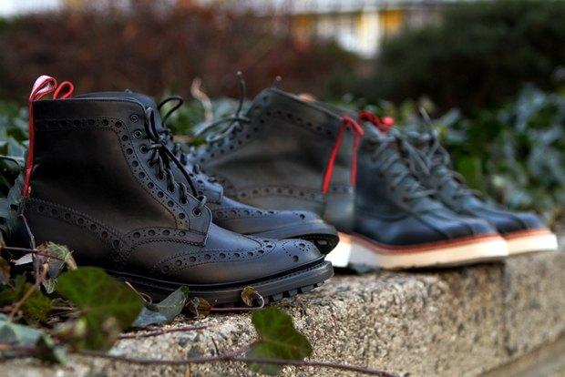 Дизайнер Ронни Фиг и марка Grenson выпустили капсульную коллекцию обуви. Изображение № 4.