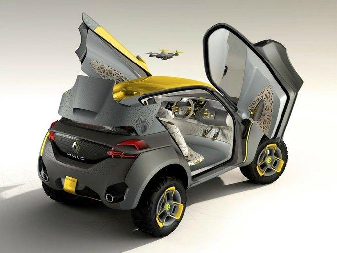 Renault разработали автомобиль с летающим «помощником». Изображение № 1.