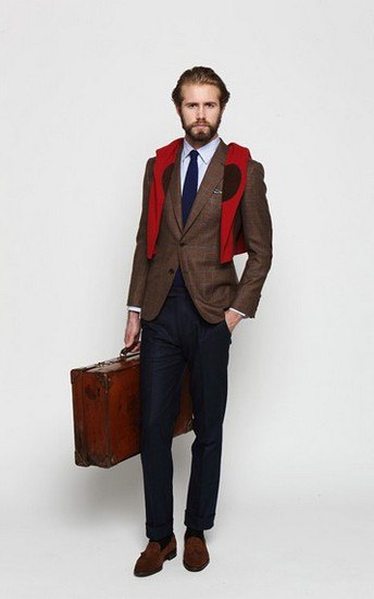 Марка Ovadia & Sons опубликовала лукбук осенней коллекции одежды. Изображение № 14.