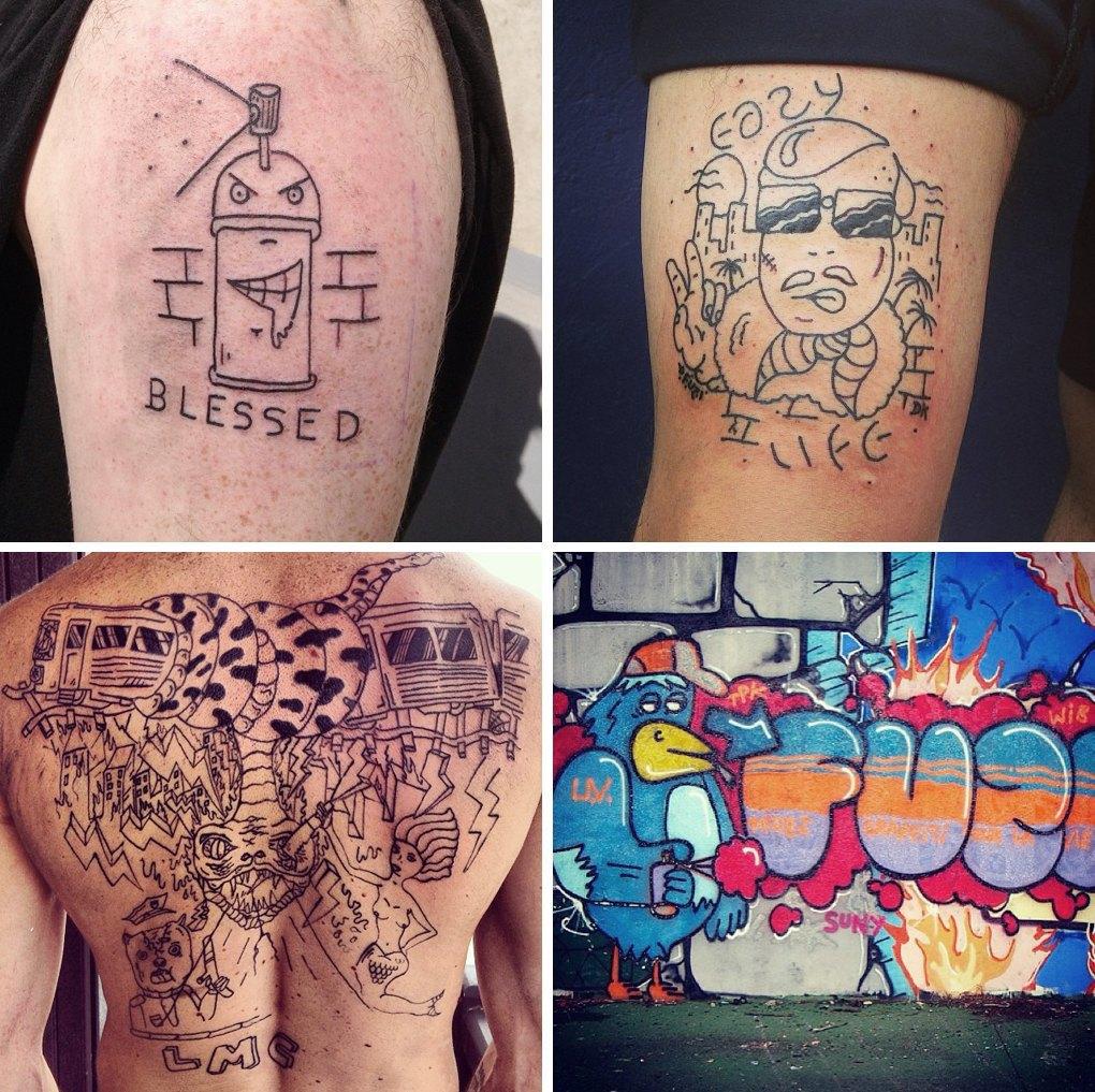 Что публикуют в своих Instagram известные татуировщики. Изображение № 15.