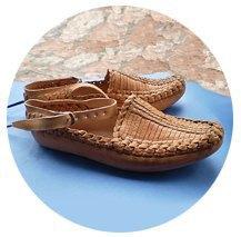 Плетеная обувь: Из главного фетиша пенсионеров в будущее спортивной обуви. Изображение № 1.