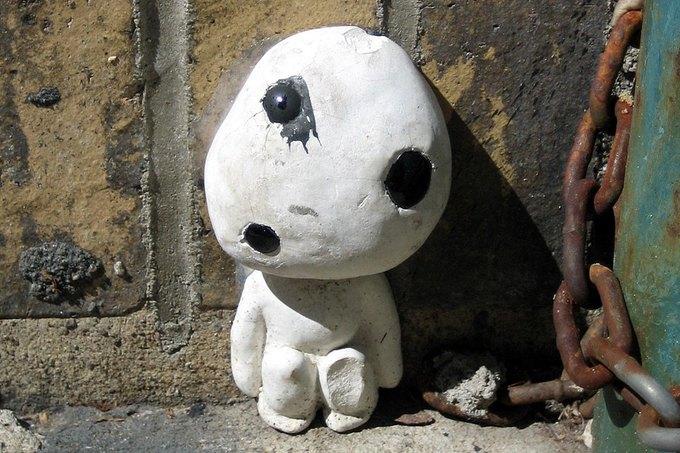 Уличные скульптуры, созданные неизвестными. Изображение № 4.