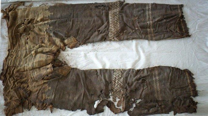 Немецкие археологи обнаружили самые старые штаны. Изображение № 1.