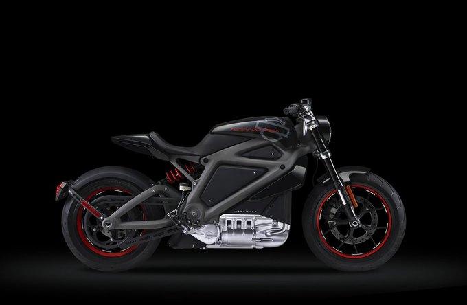 В Нью-Йорке прошла презентация электрического Harley-Davidson. Изображение № 1.