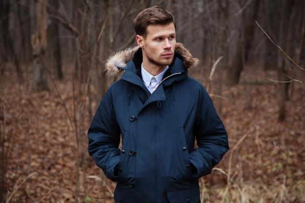 Магазин FOTT представил лукбук коллекции курток, выпущенных совместно с маркой Spiewak. Изображение № 4.