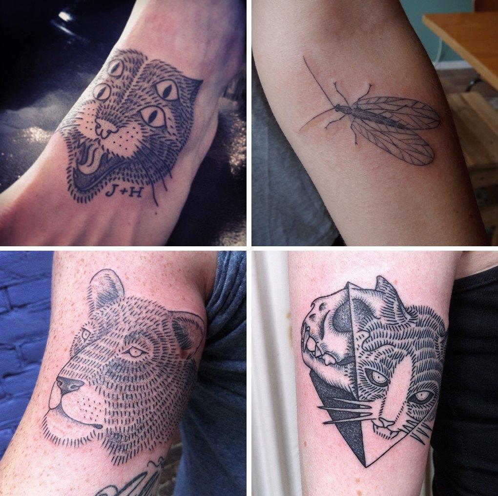 10 главных символов современной татуировки. Изображение № 8.