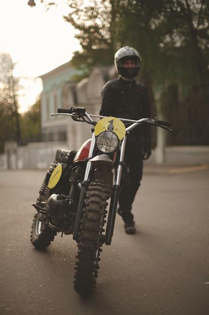 Репортаж со съемок тест-драйва мотоцикла Kawarna. Изображение № 1.