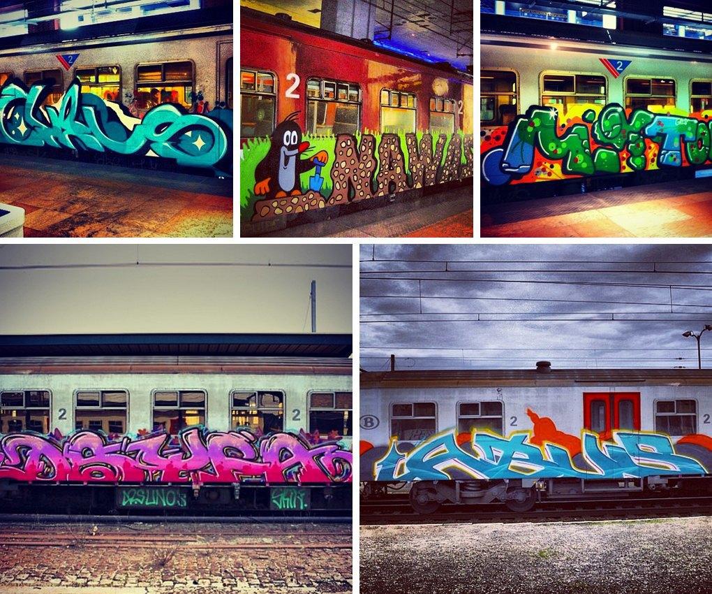 Что публикуют в своих Instagram российские граффити-художники. Часть первая. Изображение № 12.