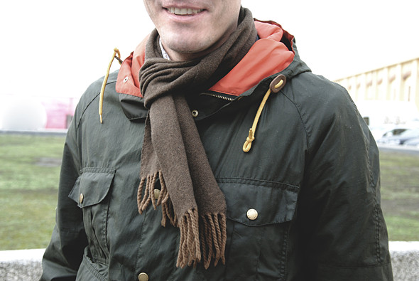 Детали: Репортаж с выставки мужской одежды Pitti Uomo. День третий. Изображение № 28.
