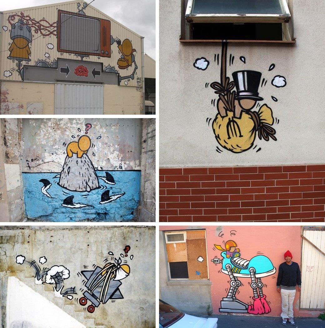 Гид по граффити в странах третьего мира. Изображение № 7.