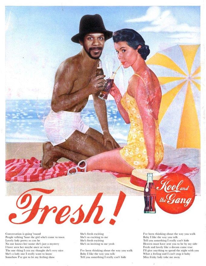 Ads Libitum: Звезды поп-культуры на винтажных рекламных плакатах. Изображение № 8.