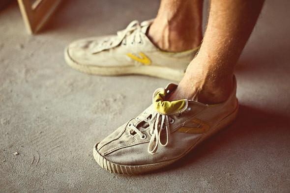 Фоторепортаж: 50 мужских кроссовок на выставке Faces & Laces. Изображение № 23.