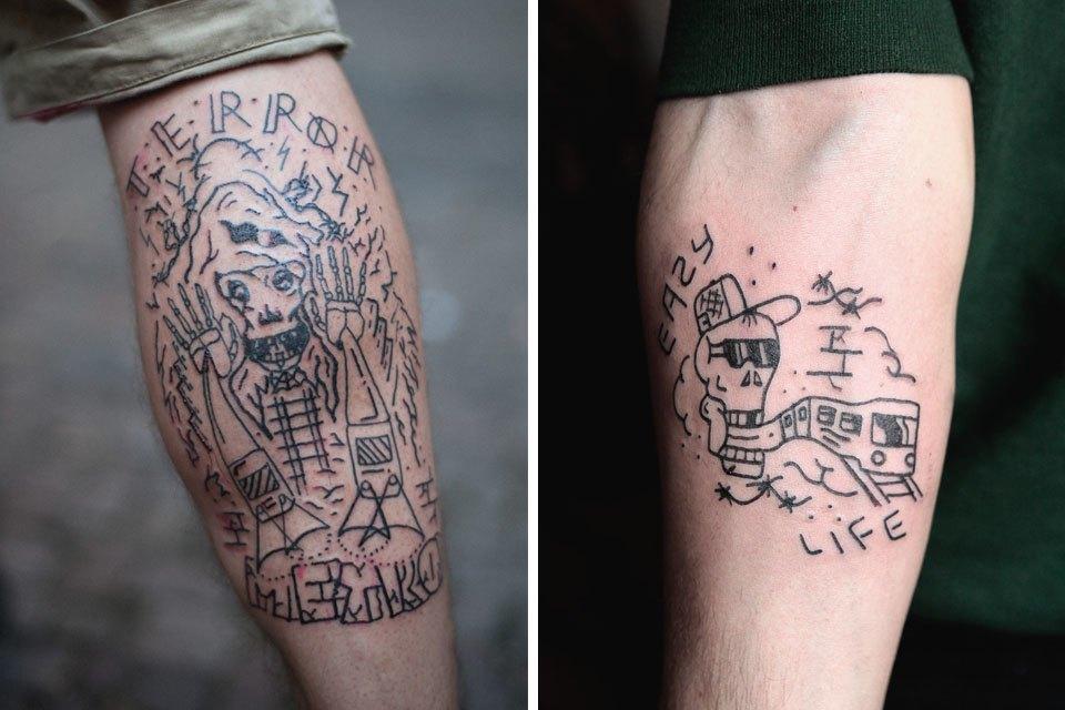 «Право носить на себе некоторые символы нужно заслужить»: Интервью с татуировщиком Фузи. Изображение № 7.