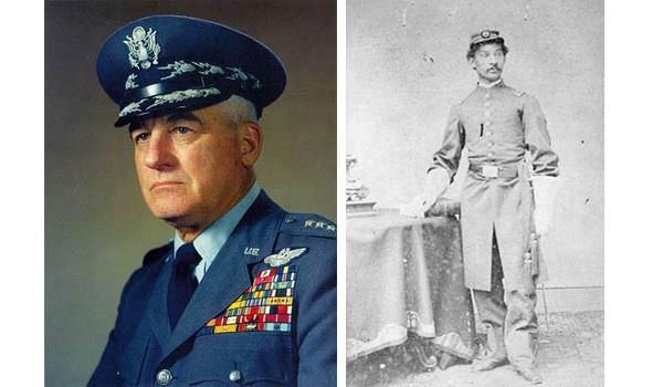 Слева — американская военная фуражка пятидесятых годов — от нее у некоторых бейсболок остался рант. Справа — американский солдат времен Гражданской войны. Изображение № 2.