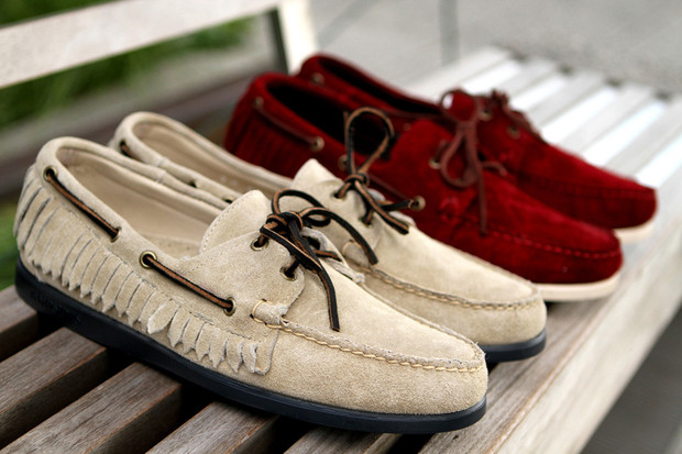 Дизайнер Ронни Фиг и марка Sebago выпустили капсульную коллекцию обуви. Изображение № 4.