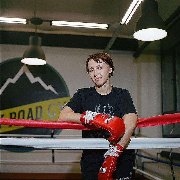 «Мой муж тоже занимается боксом, но я его перебиваю по очкам»: Девушки боксеры о своём увлечении. Изображение № 4.
