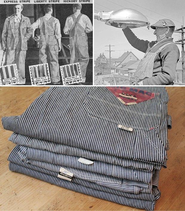 Вабаш и хикори: Традиционные узоры американской рабочей одежды. Изображение № 4.