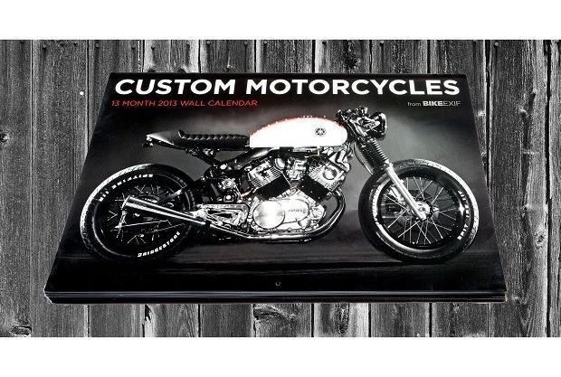 Сайт Bike EXIF выпустил календарь с кастомизированными мотоциклами. Изображение № 12.