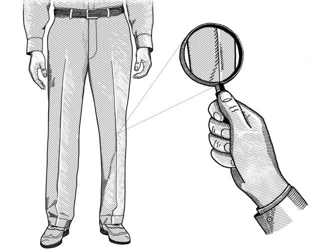 Внимание к деталям: Как на брюках появились стрелки. Изображение № 2.