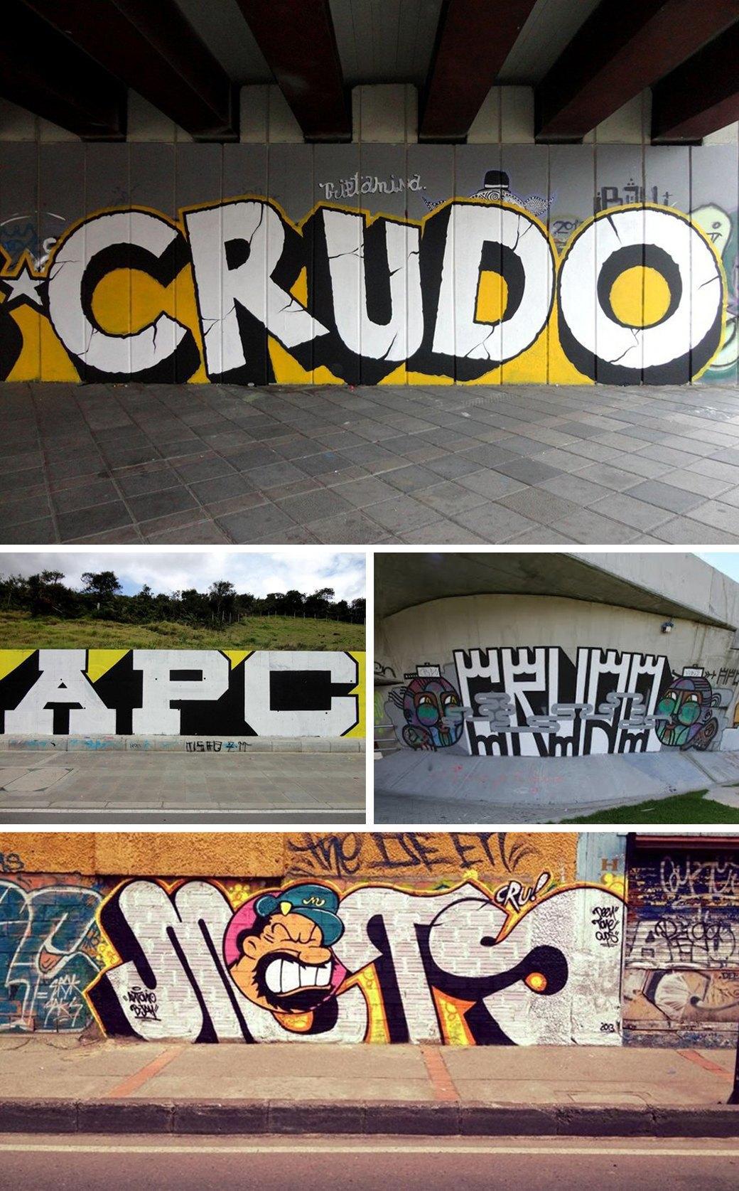 Гид по граффити в странах третьего мира. Изображение № 1.