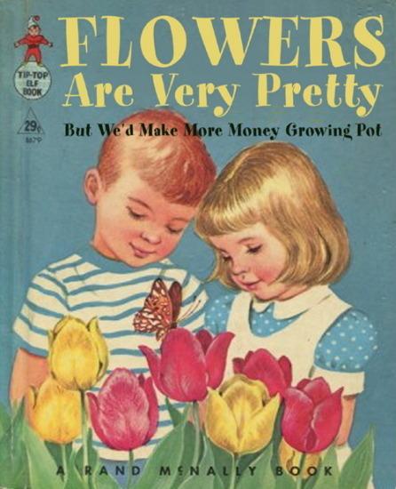 Иллюстратор Боб Стэйк создал пародии на обложки старых детских книжек   . Изображение № 5.