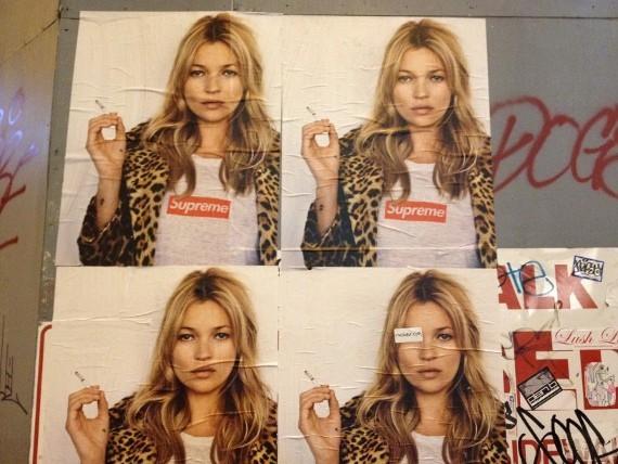 Кейт Мосс снялась в рекламной кампании Supreme. Изображение № 6.