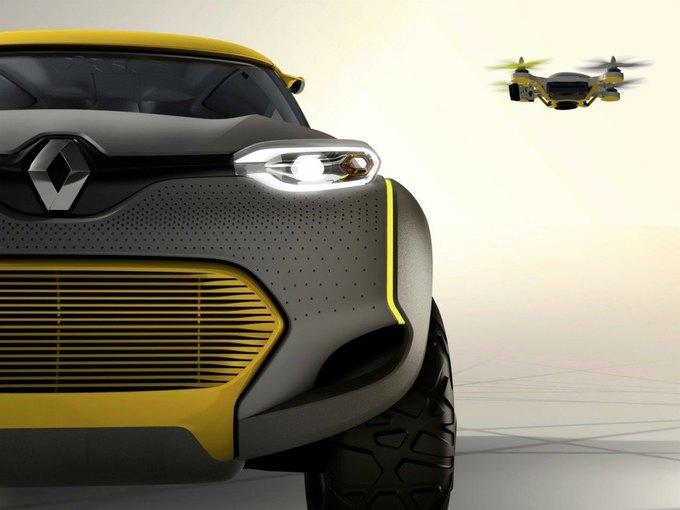 Renault разработали автомобиль с летающим «помощником». Изображение № 2.