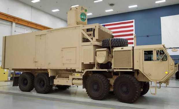 Армия США завершила испытания лазерной пушки. Изображение № 1.