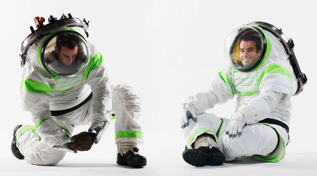 Как будут выглядеть космические скафандры в будущем. Изображение № 6.