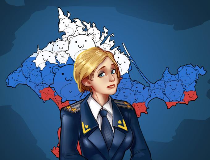 Прокурор-тян: Как Наталья Поклонская стала кавайным мемом. Изображение № 9.