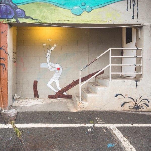 Гавайский фестиваль граффити Pow! Wow! в Instagram-фотографиях участников. Изображение № 12.