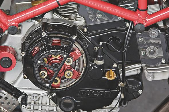 Создатели нашумевшего каферейсера Ducati 9 1/2 выставили свой мотоцикл на продажу. Изображение № 4.