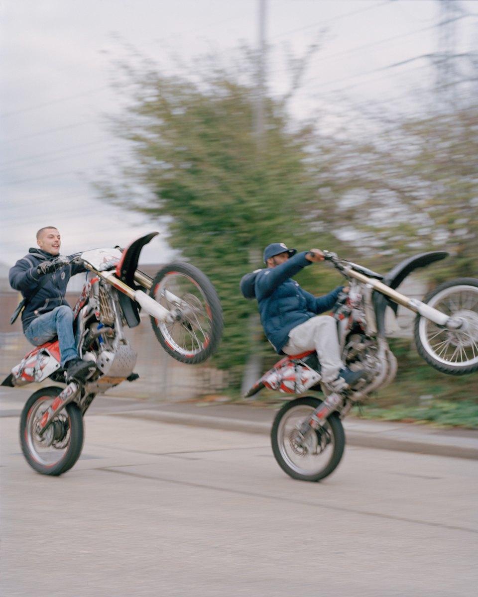 Фотопроект: Лондонские гопники и их мотоциклы. Изображение № 16.