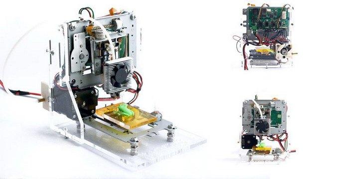 Создан 3D-принтер из отходов электроники. Изображение № 1.