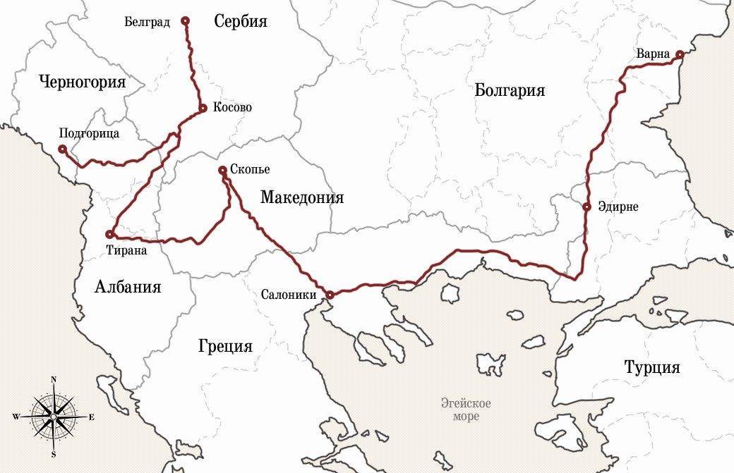 «Дальше мы не едем, парень, иди сам»: Автостопом по Балканам. Изображение №2.