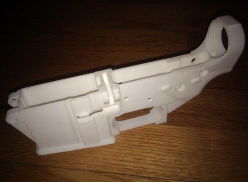 Самозарядная винтовка AR-15 с распечатанной нижней частью ствольной коробки. Изображение № 2.