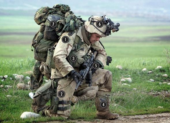 Военное положение: Одежда и аксессуары солдат в Ираке. Изображение № 2.