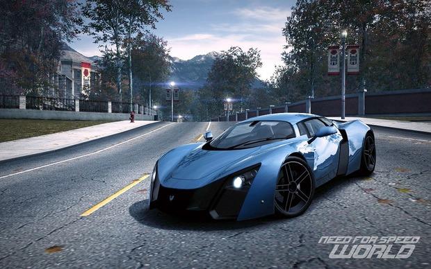 Российский спорткар Marussia B2 появится в игре Need for Speed World. Изображение № 2.
