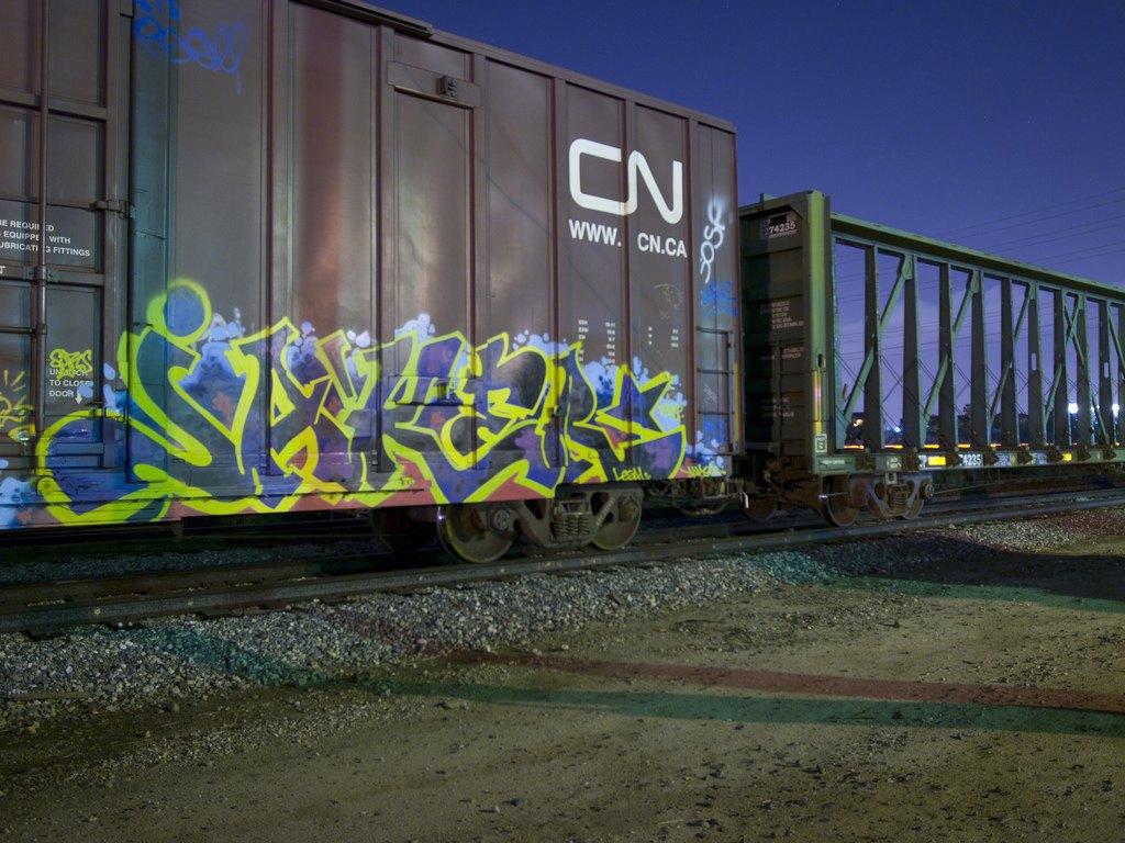 True 2 Death: Блог о разрисованных поездах из Южной Калифорнии. Изображение № 4.