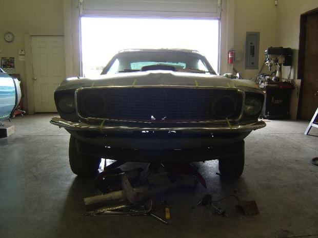 Американская мастерская изготовила гибрид маслкара Ford Mustang Mach 1 и спорткара GT40. Изображение № 16.