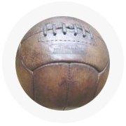 Находка недели: Винтажный футбольный мяч. Изображение № 5.