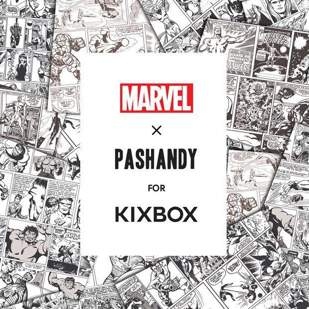 Магазин Kixbox, Marvel и российские художники выпустили совместную коллекцию футболок . Изображение № 9.