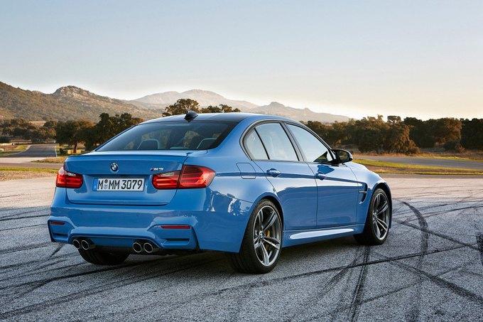 BMW представила новый седан M3 и купе M4. Изображение № 9.
