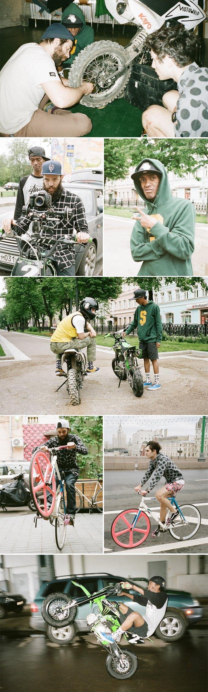 Магазин Kixbox и Кирилл Куренков выпустили видео о питбайках. Изображение № 3.