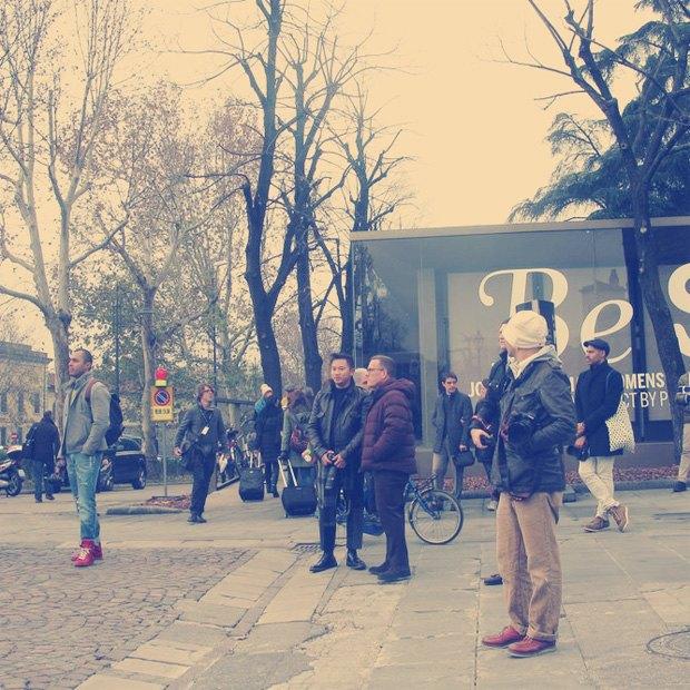 Pitti Uomo 2013: Репортаж с первого дня выставки, стенды Barbour, Onitsuka Tiger и другие . Изображение № 2.