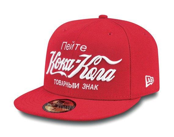 Марка New Era представила коллаборацию с Coca-Cola. Изображение № 1.