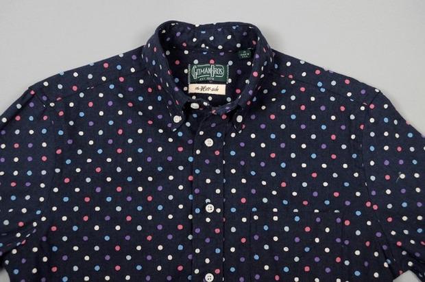 Марка Gitman Bros. представила новую коллекцию рубашек своей линейки Holiday. Изображение № 10.